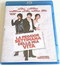 LA PEGGIOR SETTIMANA DELLA MIA VITA  FILM BLU-RAY BD COME NUOVO ITALIANO VENDITA