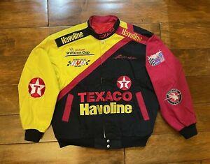 Vintage Ernie Irvan #28 Texaco Havoline Racing Jacket Mens Size X Large NASCAR