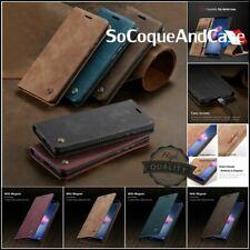 Etui Coque CASEME Cuir PU Leather Wallet Case iPhone SE 6 7 8, iPhone 6+ 7+ 8+