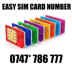 GOLD EASY VIP MEMORABLE MOBILE PHONE NUMBER DIAMOND PLATINUM SIMCARD 786 777