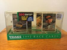 Traks 1992 Race Cards 200-Card Set Special Limited Collector Edition See Details