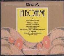 Puccini LA BOHEME Freni, Raimondi, Panerai, HERBERT VON KARAJAN, Vienna, 1963