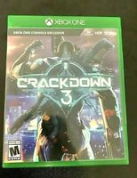 Crackdown 3: Xbox One [OPEN BOX] *NEVER USED MINT CONDITION*