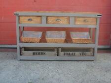 Solid Pine Rustic Handmade, Freestanding Unit, Restaurant, Cafe, Deli