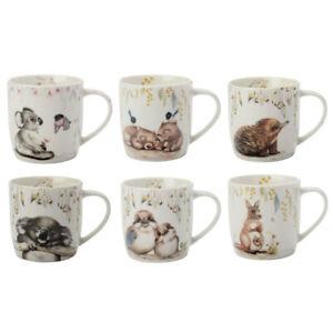 Maxwell & Williams Sally Howell Porcelain 340ml Coffee Mug Drinking Tea Cup