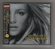 BRITNEY SPEARS - OUTRAGEOUS - 7 REMIXES - CDs OBI JAPAN - SIGILLATO MINT!!!