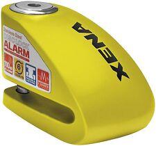 Xena XX-6 Motorcycle Disc Lock with Alarm - Yellow XX6 XX-6-Y 10-0102 56-9661