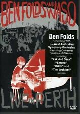 Ben Folds and Waso: Live in Perth (DVD), R- All. Like new, free shipping