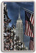 Empire State Building New York Fridge Magnet 02