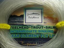 Irideus 5 wt Clear TroutSeries  Intermediate Sinking Clear Element Fly fishing