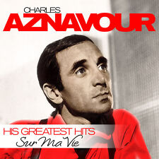 CD Charles Aznavour Sur Ma Vie  His Greatest Hits   2CDs