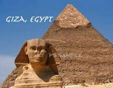 GIZA EGYPT PYRAMID - Travel Souvenir Magnet
