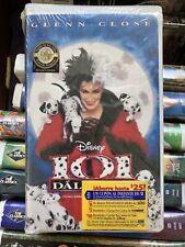 NEW Spanish Video 101 Dalmatians VHS 1996 Walt Disney Glenn Close ESPANOL tape