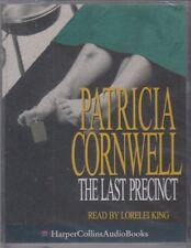 Patricia Cornwell The Last Precinct 2 Cassette Audio Book NEW Scarpetta FASTPOST