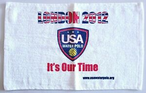London 2012 Summer Olympics USA Water Polo 11X17 Towel It's Our Time