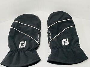 FootJoy DryJoys Golf Cart Driving Fleece Lined Mitts Gloves