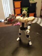 Bandai Saban Beetleborgs White Blaster Figure Beetle borg