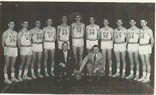 Bevo Francis 1954 Rio Grande College team picture photo