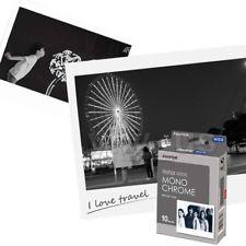Fujifilm Instax Wide Film Monochrome 10 Sheets fr 300 200 210 100 Instant Camera