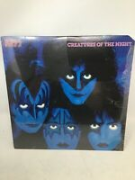 KISS - CREATURES OF THE NIGHT 1982 1P Kiss Labels Sterling Mint Vinyl LP NM