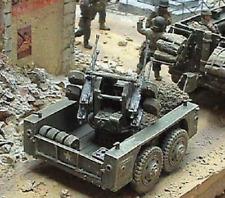 Milicast US066 1/76 Resin WWII M51 Multiple Machine Gun Carriage Trailer-0.50cal