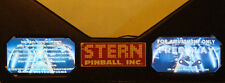 TRON Pinball Machine Glowing Instruction Card Kit EL Panel Stern PRO Premium LE