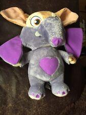 Disney Zootropolis Deluxe Ele-Finnick Talking Soft Toy Plush Elephant Zootopia