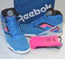 New Reebok Twilight Zone The Pump Blue/Pearl/Pink/Black w/Stance Socks 13 Rare