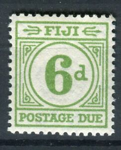 Fiji KGVI 1940 Postage Due 6d emerald green SG.D16 MH