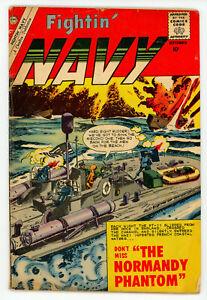 JERRY WEIST ESTATE: FIGHTIN' NAVY #91 & 94 (VG) (Charlton 1960) NO RES