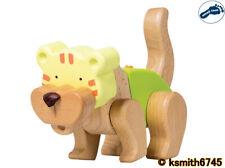 Pie Pequeño 9 Pieza 3D Rompecabezas de Madera Creativo Kit Tigre Juguete Animal Salvaje Jigsaw