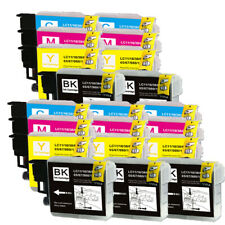 20 PK Printer Ink Cartridges use for Brother LC61 MFC J415W J615W J630W