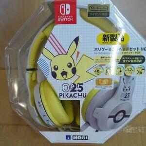 Hori Gaming Headset High Grade for Nintendo Switch Pikachu POP NSW-264A 025