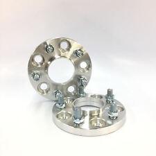 2pc 15mm Thick Wheel Spacers | 5x114.3 Hubcentric 67.1 Hub | 12x1.5 Stud EVO 8 9