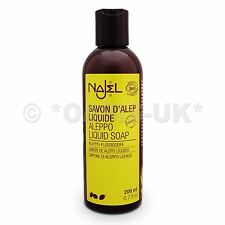 Najel Aleppo Liquid Soap 200ml