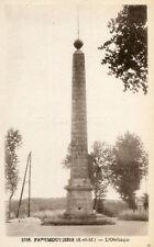 FAREMOUTIERS LOT de 3 cartes Obélisque Panorama Pont Gallo Romain