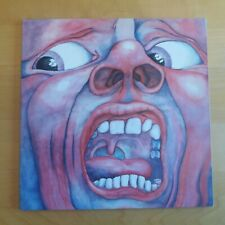 King Crimson 1969 g/fold LP In the Court of the Crimson King, classic prog EX++
