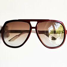 occhiali da sole GUCCI red square sunglasses vintage rare new lens GG1622/S 90s