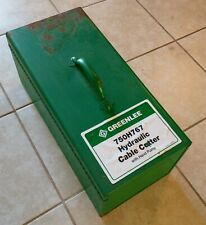 Greenlee 750H767 Hydraulic Cable Cutter With Hand Pump