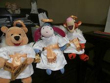 Pooh bear ANGEL CHOIR Tigger, Eeyore, Bean Bag Angels Plush TOY Walt Disney 2000