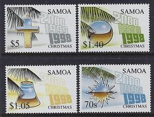 1998 SAMOA CHRISTMAS SET OF 4 FINE MINT MNH/MUH