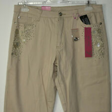 Damen Jeans Hose Beige Stretch Betty Slim Form Art-Nr:96 Gr 40/32