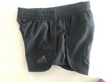 Girls adidas shorts, black, size 9-10 years