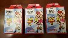 Genuine FujiFilm Instax Mini Film Toy Story 4 - 3 Packs