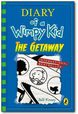 Diary of a Wimpy Kid: THE GETAWAY (Book 12) Jeff Kinney (Hardcover) *BRAND NEW*