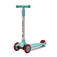 Svolta Mega 3-Wheel Kick Scooter for Kids / Boys / Girls / Unisex - Red/Aqua