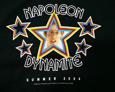 Napoleon Dynamite Cult Comedy Advance Promo Movie T Shirt M Jon Heder
