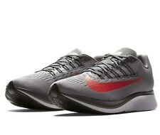 Nike Zoom Fly Mens Running Shoes 8 Gunsmoke Bright Crimson