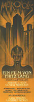 "METROPOLIS - DOOR MOVIE POSTER (MACHINE MAN) (SIZE: 21"" X 62"")"