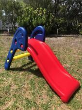 CHILDRENS TODDLER PLASTIC FOLDING SLIDE